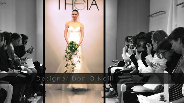 THEIA White Collection, Spring 2014 – New York – BTS*